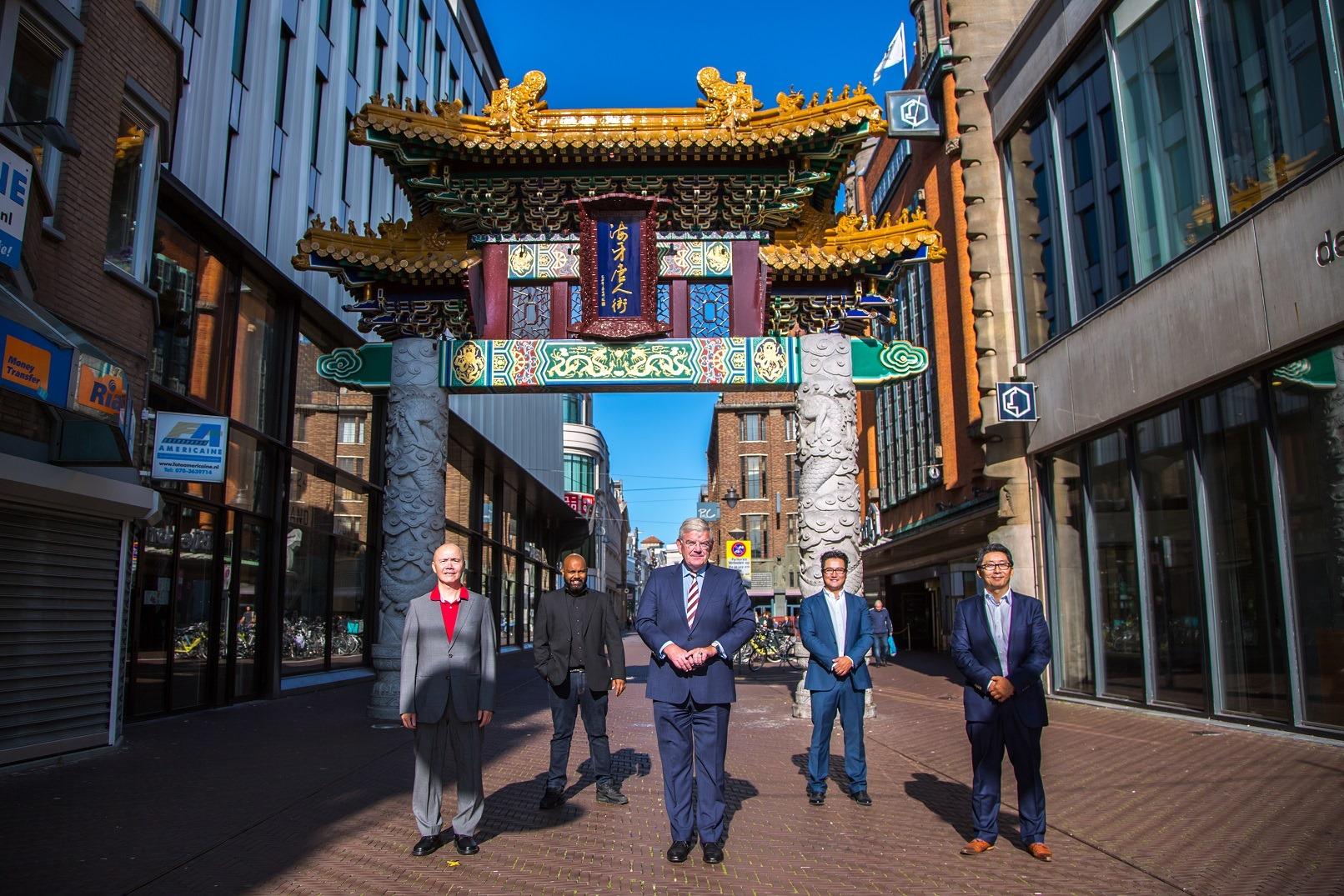 Atom Zhou Stichting BIZ Chinatown Den Haag
